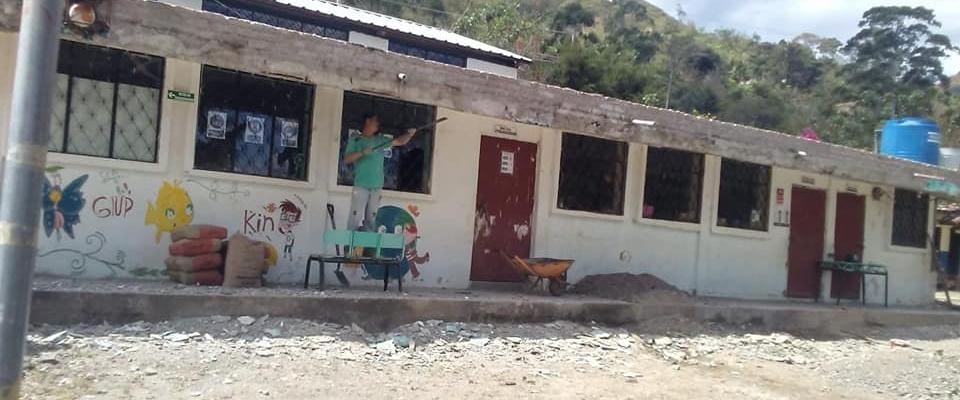 MEJORAMIENTO DE LAS INFRAESTRUCTURAS EDUCATIVAS DE LA PARROQUIA.